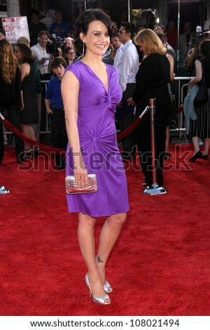"Carla Gugino  at the World Premiere of ""Get Smart"". Mann Village Theatre, Westwood, CA. 06-16-08"