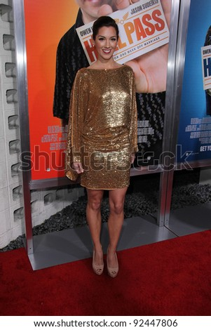 "Carly Craig at the ""Hall Pass"" Los Angeles Premiere, Cinerama Dome, Hollywood, CA. 02-23-11 - stock photo"