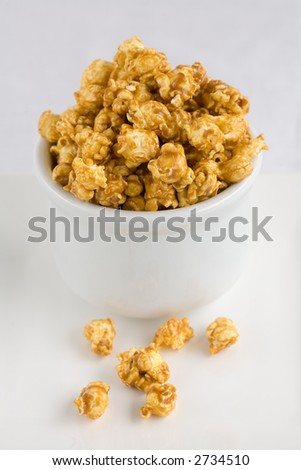 Carmel Popcorn or toffee popcorn what ever your flavor