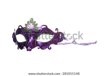 Carnaval mask - stock photo
