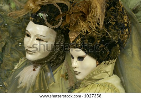 Carneval mask in Venice, Italy - stock photo