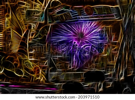 Carnival Abstract - stock photo
