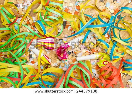 Carnival background - stock photo