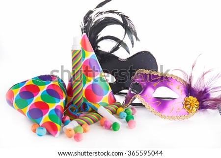 carnival decoration - stock photo