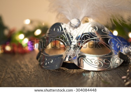 Carnival fancy mask