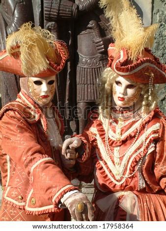 Carnival of Venice - stock photo