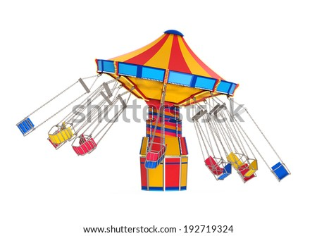 Carnival Swing Ride - stock photo
