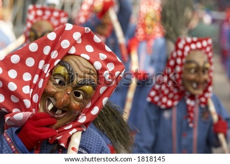 Carnival - traditional masks 4