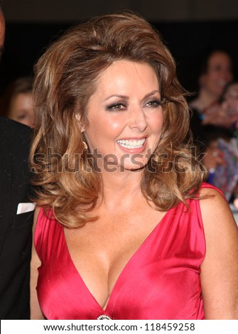 Carol Vorderman arriving for the 2012 Pride of Britain Awards, at the Grosvenor House Hotel, London. 29/10/2012