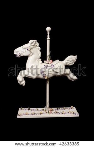 Carousel Horse - stock photo