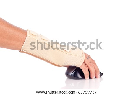 Carpal Tunnel Syndrome Concept - stock photo