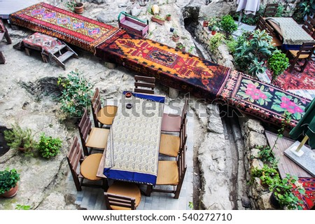carpet exterior design for outdoor restaurant hand made carpets in traditional style in the small