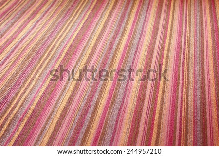 Carpet texture look like something is moving,that is conceptual, blurred - stock photo