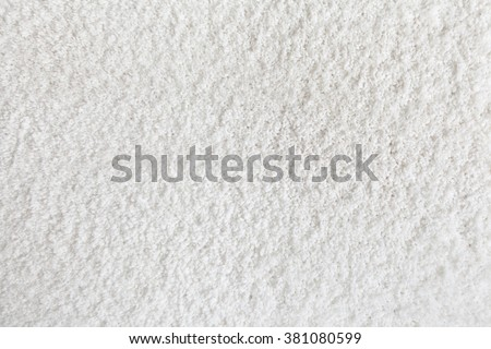 white carpet background. carpet texture. white background close up e