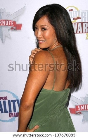 Carrie Ann Inaba  at the Fox Reality Channel Awards. Avalon Hollywood, Hollywood, CA. 09-24-08