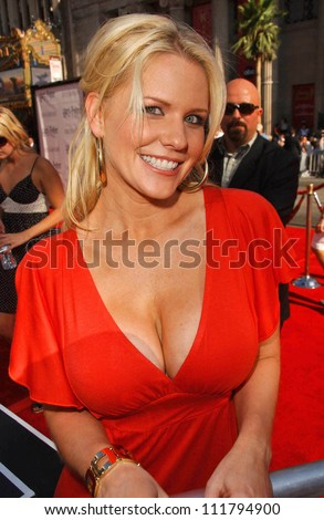 "Carrie Keagan at the premiere of ""Harry Potter and The Order of The Phoenix"". Grauman's Chinese Theatre, Hollywood, CA. 07-08-07"
