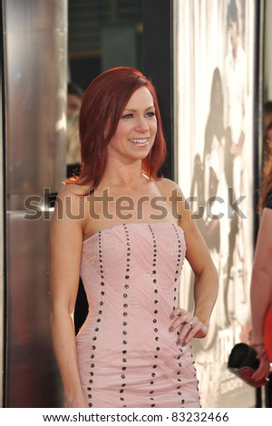 "Carrie Preston at the Los Angeles premiere of the fourth season of HBO's ""True Blood"" at the Cinerama Dome, Hollywood. June 21, 2011  Los Angeles, CA Picture: Paul Smith / Featureflash"