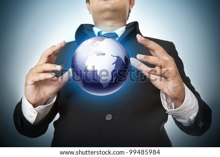 Carrying on the business world - stock photo