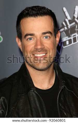 "Carson Daly  at NBC's ""The Voice"" Press Conference, LA Center Studios, Los Angeles, CA. 03-15-11 - stock photo"