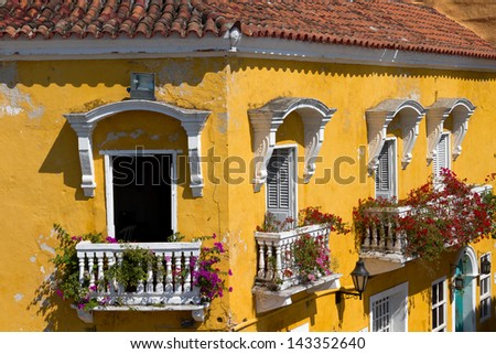Cartagena, Colombia - stock photo