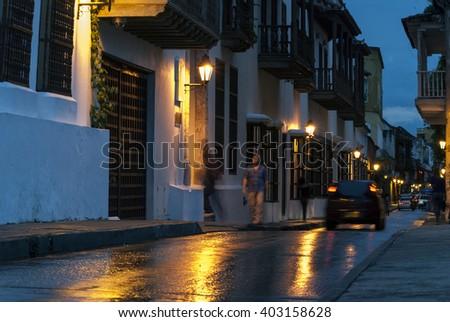 Cartagena, Colombia - stock photo