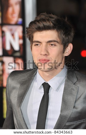 "Carter Jenkins at the world premiere of his new movie ""Valentine's Day"" at Grauman's Chinese Theatre, Hollywood. February 8, 2010  Los Angeles, CA Picture: Paul Smith / Featureflash"