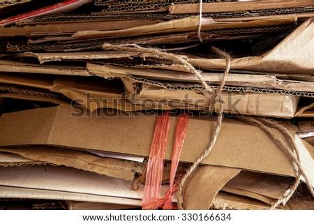 Cartons - stock photo