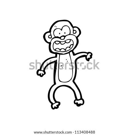 cartoon animal - stock photo