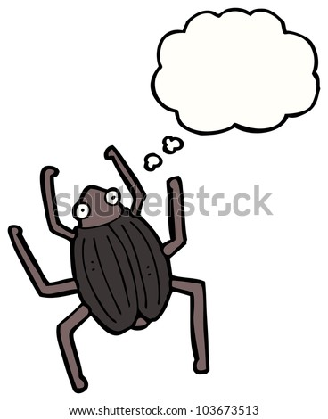 cartoon beetle
