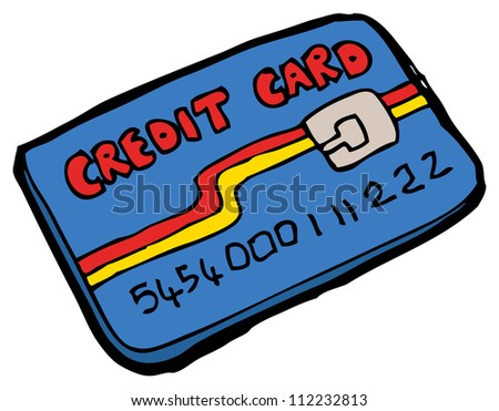 Credit Card Cartoons Stock Images, Royalty-Free Images & Vectors ...