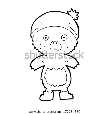 cartoon cute teddy bear