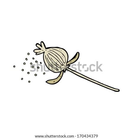 Cartoon dried poppy flower stock illustration 170434379 shutterstock cartoon dried poppy flower mightylinksfo
