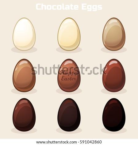whitemilkdarkchocolateeastereggs