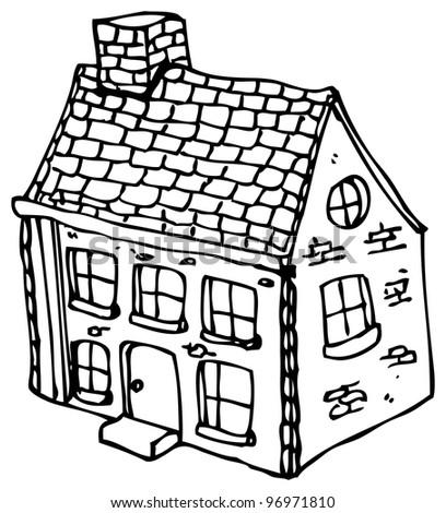 cartoon farmhouse stock illustration 96971810 shutterstock rh shutterstock com
