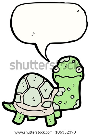 cartoon funny tortoise