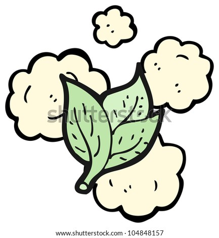 cartoon leaf