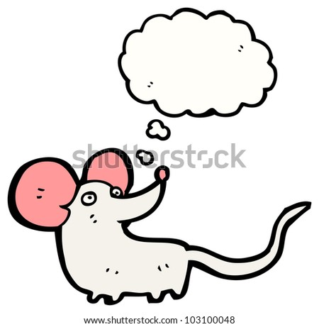 cartoon little mouse