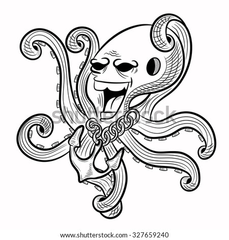 Octopus clipart mimic octopus, Octopus mimic octopus ...