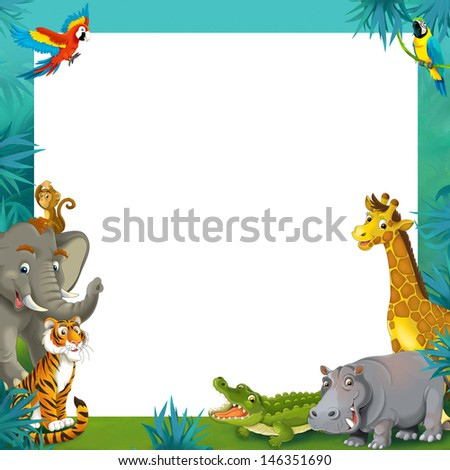 Animal Border Stock Images Royalty Free Images amp Vectors