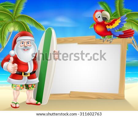 Hawaiian Santa Stock Photos, Royalty-Free Images & Vectors ...