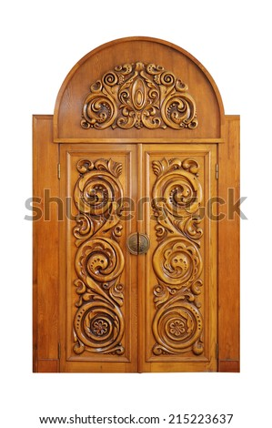 carved door isolated on a white background  sc 1 st  Shutterstock & Carved Door Stock Images Royalty-Free Images u0026 Vectors   Shutterstock pezcame.com