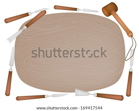 Carving Tools  - stock photo