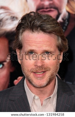 "Cary Elwes at the World Premiere of ""The Incredible Burt Wonderstone"" Chinese Theater, Hollywood, CA 03-11-13"