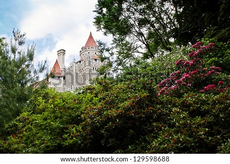 Casa Loma, Toronto (Canada) - stock photo