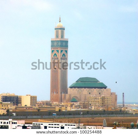casablanca - stock photo