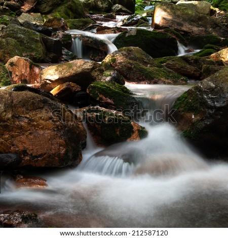 Cascade Creek - stock photo