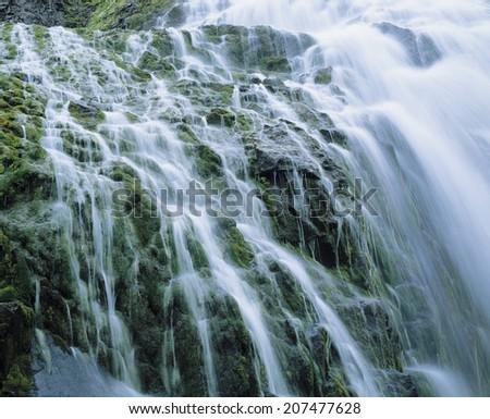 Cascade Waterfall - stock photo