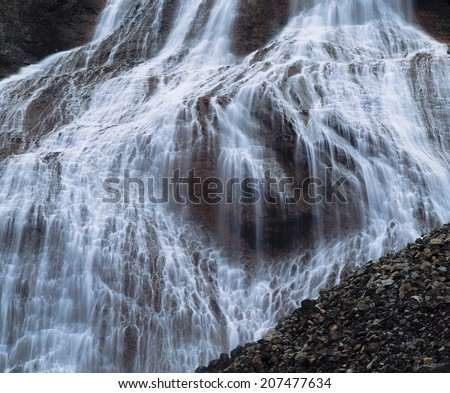 Cascade Waterfall - stock photo