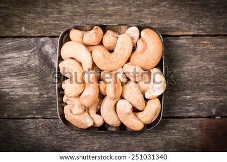 cashew - stock photo