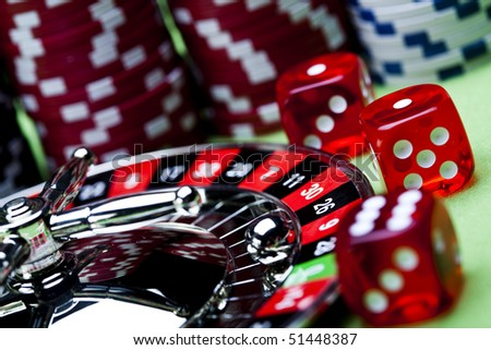 Casino Clubs! - stock photo